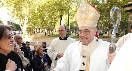 El Vía Crucis del padre Ignacio es el más convocante de la Argentina