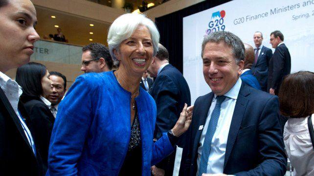 Rumbo. Dujovne insiste en la receta monetarista para bajar la inflación.