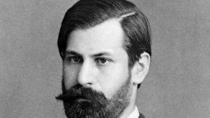 El joven Sigmund Freud en 1885.