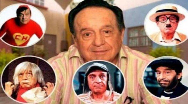 Roberto Gómez Bolaños creó varios personajes que son reconocidos mundialmente.