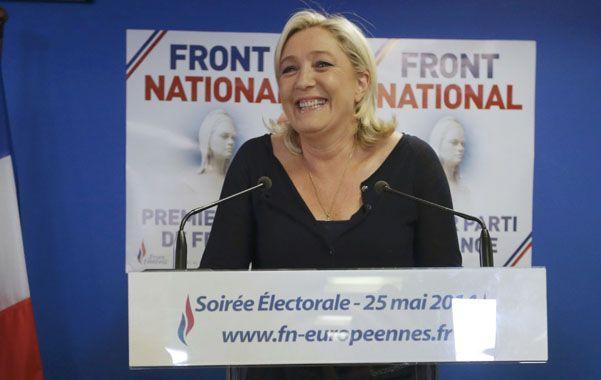 Marine Le Pen. Su Frente Nacional