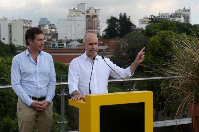 Dúo. El jefe de Gobierno porteño y su vice pretenden extender su influencia más allá de la General Paz.