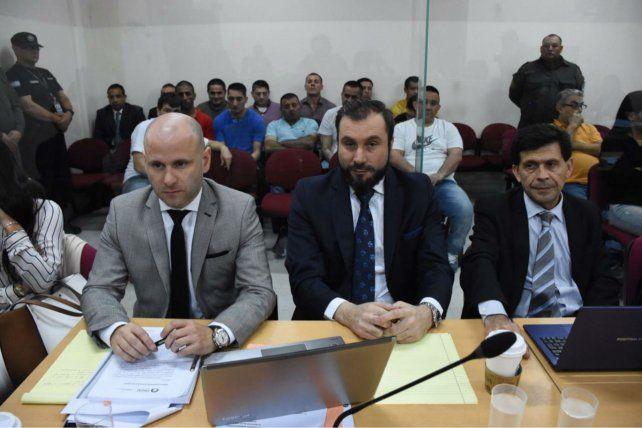 Patrocinantes. Los abogados José Nanni y Paul Krupnik.