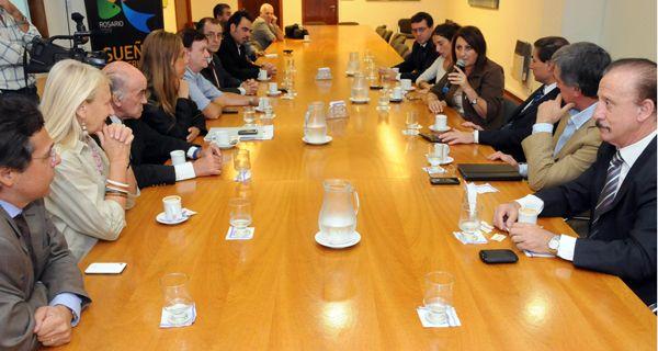 Fein suma apoyos del Concejo para que Rosario sea sede de los Panamericanos