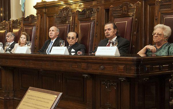 Los que votaron. Los ministros Petracchi