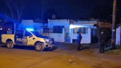 La casa donde ocurrió el homicidio de Sergio Palacios en Mar del Plata.