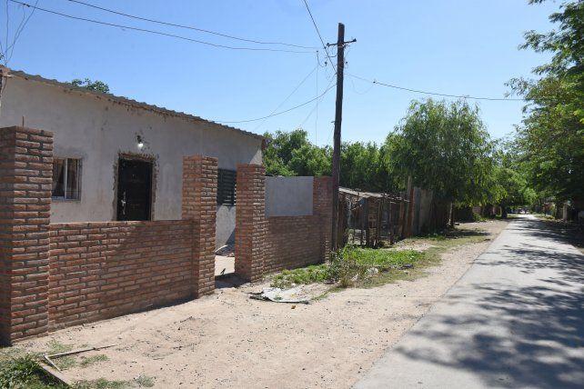 Vivienda de Balcarce al 2300 en V.G. Gálvez donde se instaló Colque y lo mataron