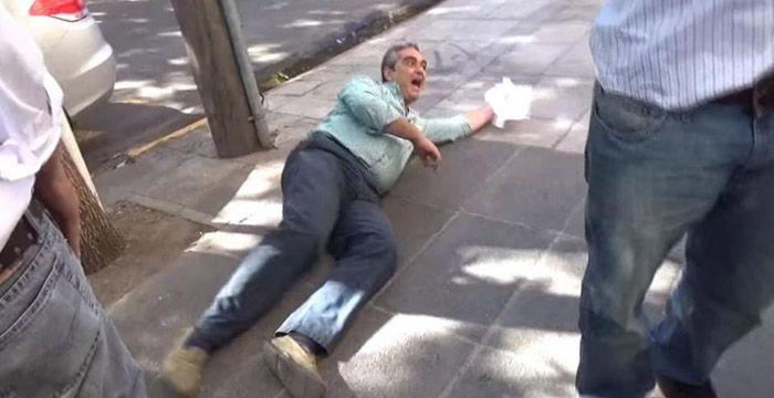 Renunció el funcionario de Morón que fingió un empujón en una protesta por despidos