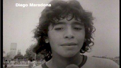 Murió el periodista que le hizo la primera nota a Maradona