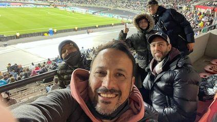 Embajadores canallas estuvieron junto a la selección argentina