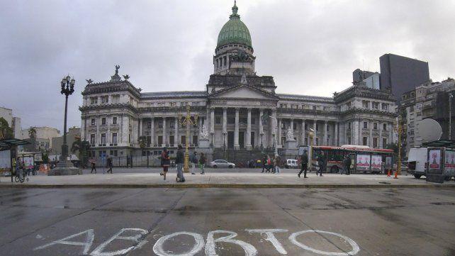 Debate por el aborto. La Cámara de Diputados vivirá otro día histórico.