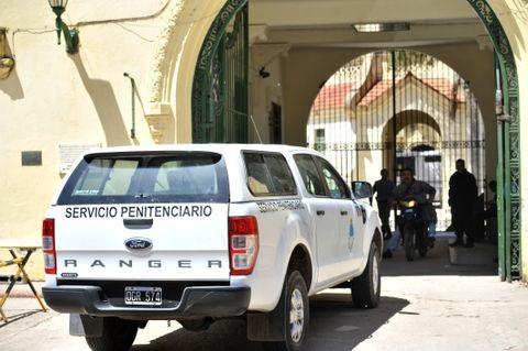 La pelea sucedió anoche en el pabellón 9 del penal de Coronda. (Foto: Virginia Benedetto / La Capital)