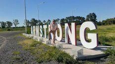 El profesor Vigna volvió a vivir en Armstrong, donde nació hace 65 años. Llegó hasta la reserva de Central y anotó un gol.