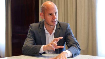 Guillermo Merediz, Secretario de la Pequeña y Mediana Empresa y los Emprendedores del Ministerio de Desarrollo Productivo.