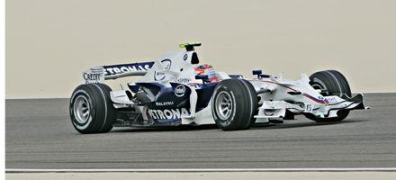 F-1 en Bahrein: el polaco Kubica logró la primera pole de su vida