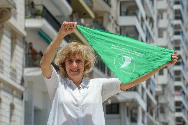 Silvia Augsburger es militante histórica de la Campaña Nacional por el Derecho al Aborto Legal