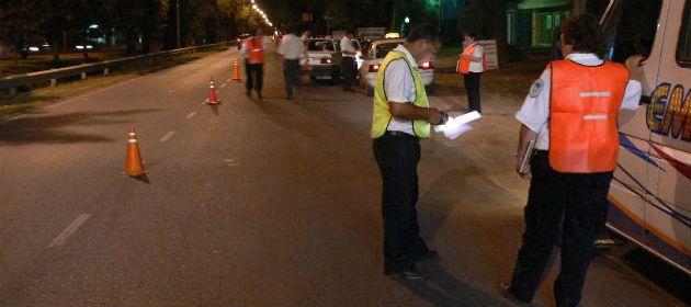 Desde el municipio piden responsabilidad de los conductores para esta noche.