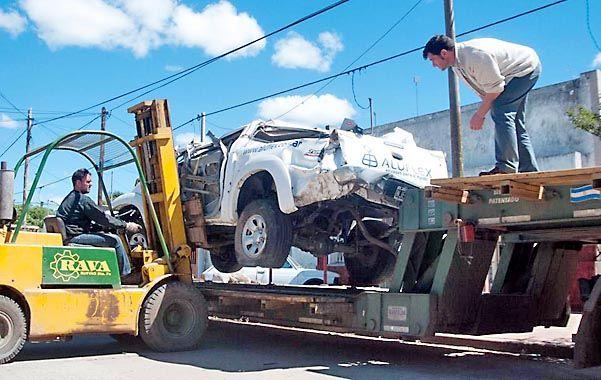 El concejal Lattanzi pagó el traslado de los vehículos