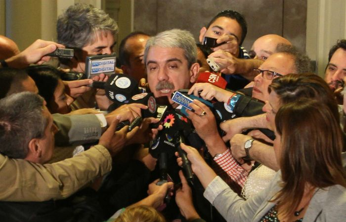El jefe de Gabinete habló en su habitual rueda de prensa.