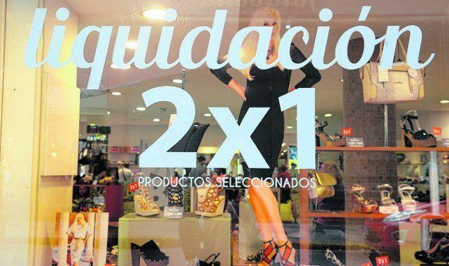 problemas. El calzado viene reflejando un baja en las ventas.