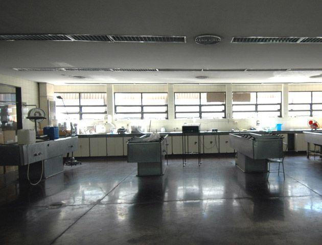 La sala de autopsias del Instituto Médico Legal