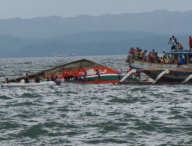 Las tragedias por fuertes marejadas son muy comunes en Filipinas.