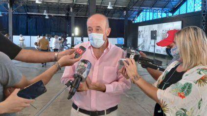 El secretario de Salud de Rosario, Leonardo Caruana. La masividad de estos eventos como las discotecas hará difícil el control.