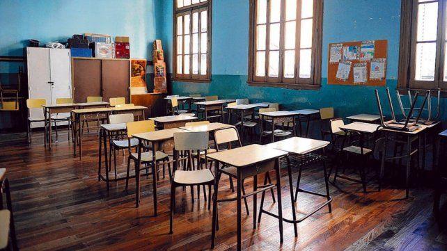 aulas vacías. Sadop dice que la gran mayoría de los colegios privados no dictarán clases en lo que resta de la semana.