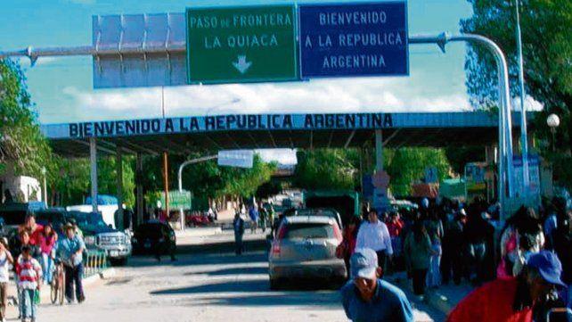 la quiaca. Cerraron la frontera con Bolivia y extremaron los recaudos.