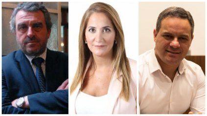 Alejandro Rossi, Marcela Aheberard y Leandro González, aspirantes al Concejo de Santa Fe.