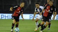 A Maxi Rodríguez no le desagrada moverse por el frente del ataque.