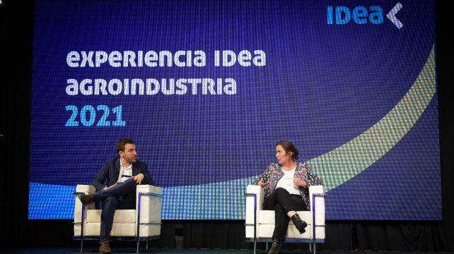 experiencia idea. Dal Pogetto fue una de las invitadas al encuentro que organizó Idea en Puerto Norte.