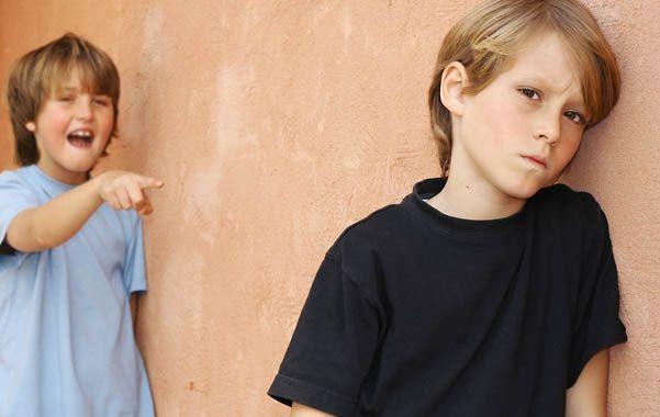 Maltrato en la escuela. El bullying es la agresión durante un tiempo.