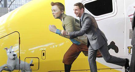 Finalmente Las aventuras de Tintín fue estrenada en su Bélgica natal