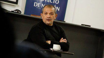 El titular de Sadop Rosario, Martín Lucero.