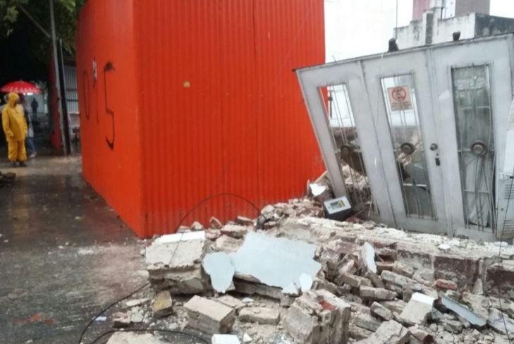En Francia y Mendoza se cayó una vivienda al ceder el terreno donde había una obra e construcción. (Foto: V. Benedetto).