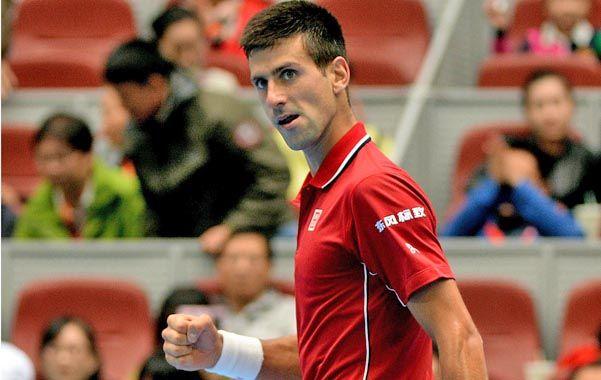 Nole irá hoy por su quinto título seguido en el torneo chino cuando enfrente en la final al checo Tomas Berych.