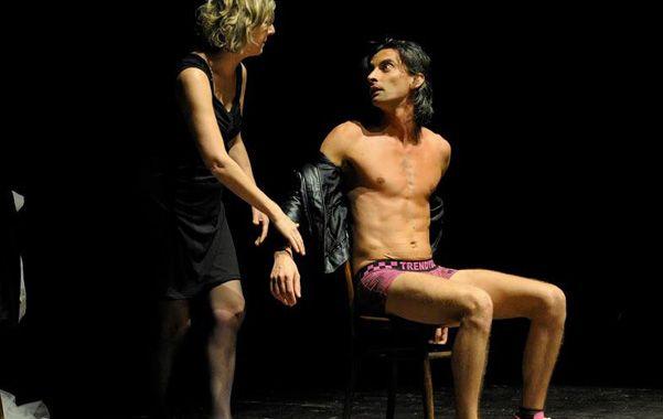 dúo. Gianfranco Berardi y Gabriella Casolari en la obra de Italia