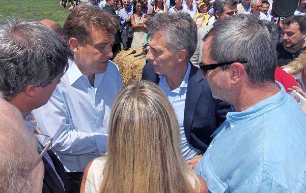 Encuentro. Funcionarios y directivos peticionaron al presidente Macri.