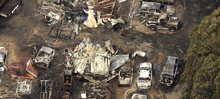 Más de cien víctimas fatales por los incendios de bosques en Australia