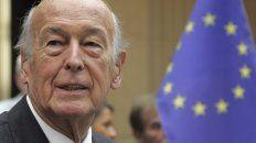 Giscard fue un gran precursor de la Unión Europea, en la que creía profundamente.