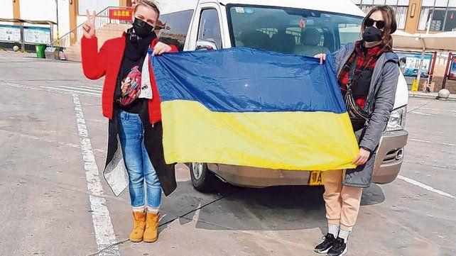 Ocho argentinos evacuados de China salen hacia Ucrania