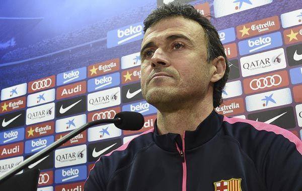 El DT del Barcelona defendió su gestión y la forma de manejar el grupo.