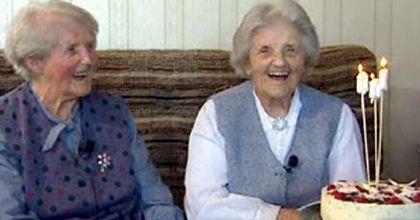 Los gemelos más longevos del mundo cumplen 100 años en Nueva Zelanda