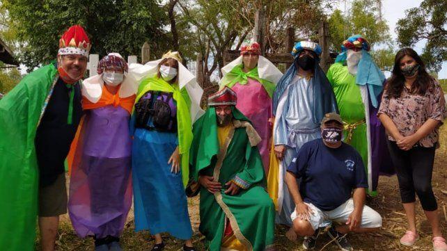 Hay equipo. Los Reyes del Paraná fueron sumando voluntarios campaña tras campaña.
