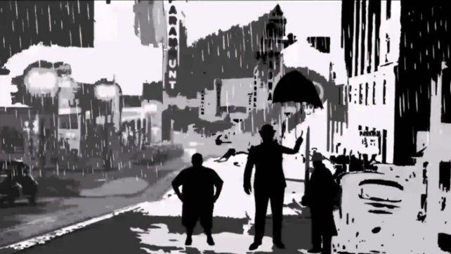 """El cuento de Rodolfo Walsh """"Tres portugueses bajo un paraguas (sin contar el muerto)"""" fue adaptado por La Cachilo."""