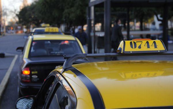 Expectantes. Los taxistas volverán el 16 de septiembre al Palacio Vasallo.