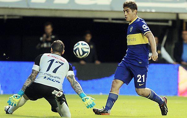 Rodolfo Arruabarrena sigue buscando el mejor once en este nuevo ciclo de Boca.