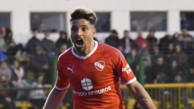 Al ataque. El delantero Sebastián Palacios
