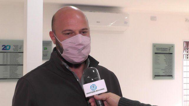 Sebastián Rancaño, jefe comunal y titular del Samco (Gentileza Identidad Regional).